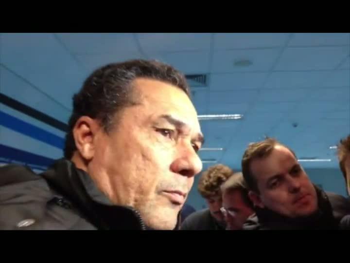 Técnico Luxemburgo comenta partida Grêmio x São Paulo - 11/06/2013