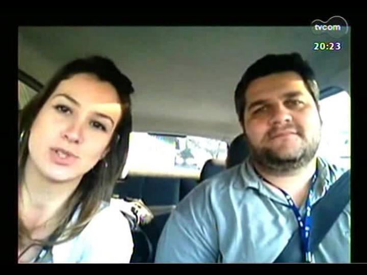 TVCOM 20 Horas - Acompanhe um teste de mobilidade urbana em Porto Alegre - Bloco 3 - 12/09/2013