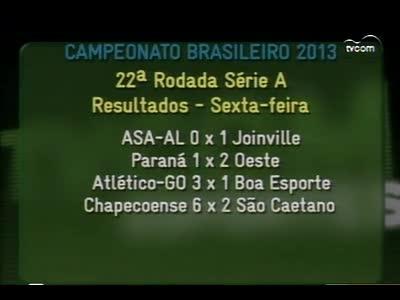 Bate Bola - Jogos de Figueirense e Avaí - 3º bloco - 15/09/2013
