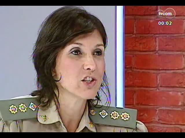 Mãos e Mentes - Tenente-coronel Nádia Gerhard, a primeira mulher a comandar um batalhão da Brigada Militar no RS - Bloco 3 - 17/11/2013