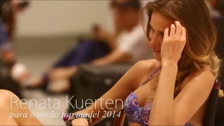 Renata Kuerten para o Verão Top Model 2014 da RBS TV