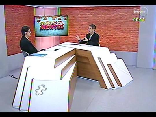 Mãos e Mentes - Assistente social Cláudio Bins - Bloco 4 - 31/01/2014