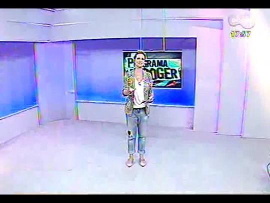 Programa do Roger - Clarissa Mombelli, cantora - Bloco 1 - 18/02/2014