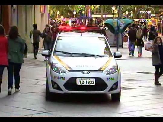 TVCOM 20 Horas - A Brigada Militar nas ruas - Bloco 1 - 26/05/2014