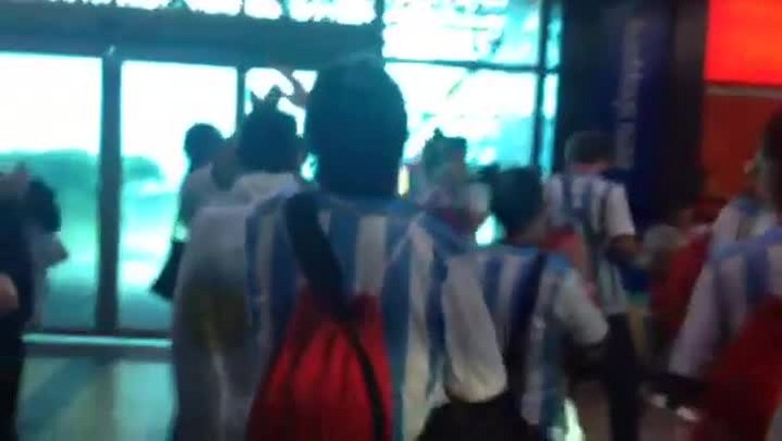 Salgado Filho registra movimento recorde de voos da Argentina