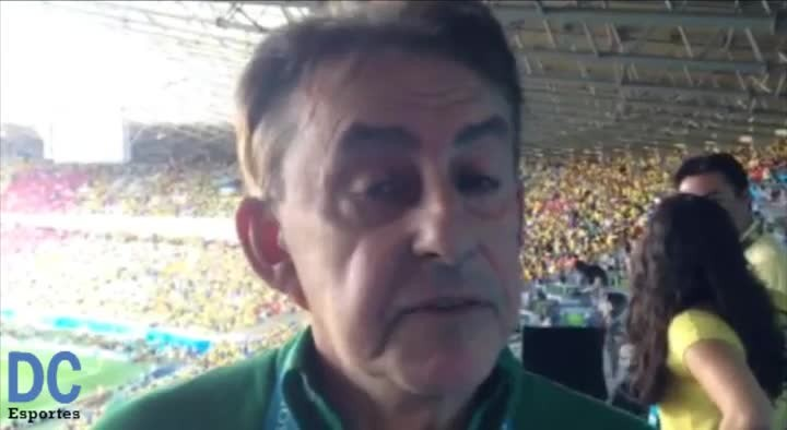 """Roberto Alves: \""""Julio César foi o herói do Brasil\"""""""