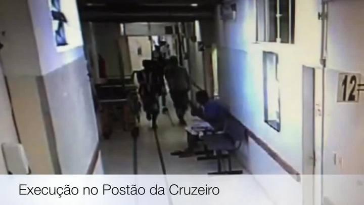 Imagens mostram execução dentro do Postão da Cruzeiro em Porto Alegre