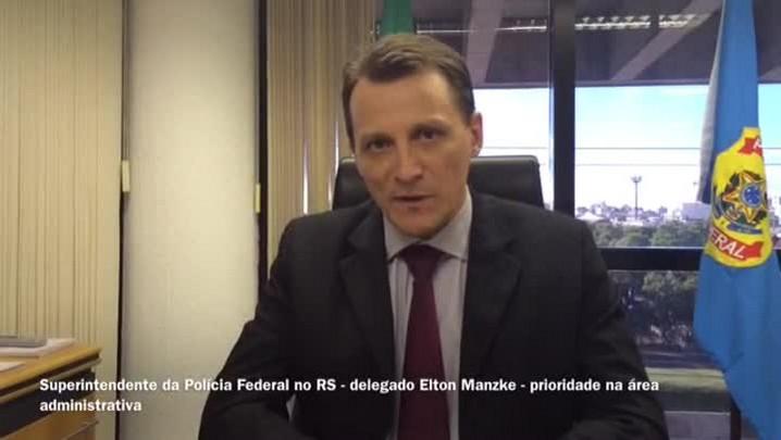 Novo superintendente da PF no RS vai priorizar combate a crimes financeiros e desvio de dinheiro público