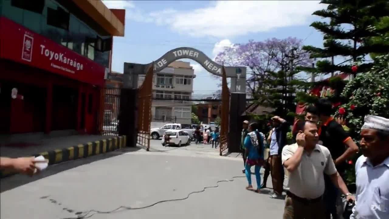 Novo terremoto atinge o Nepal