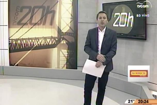 TVCOM 20 Horas - Motoristas e cobradores da Paulotur entram em greve - 13.07.15