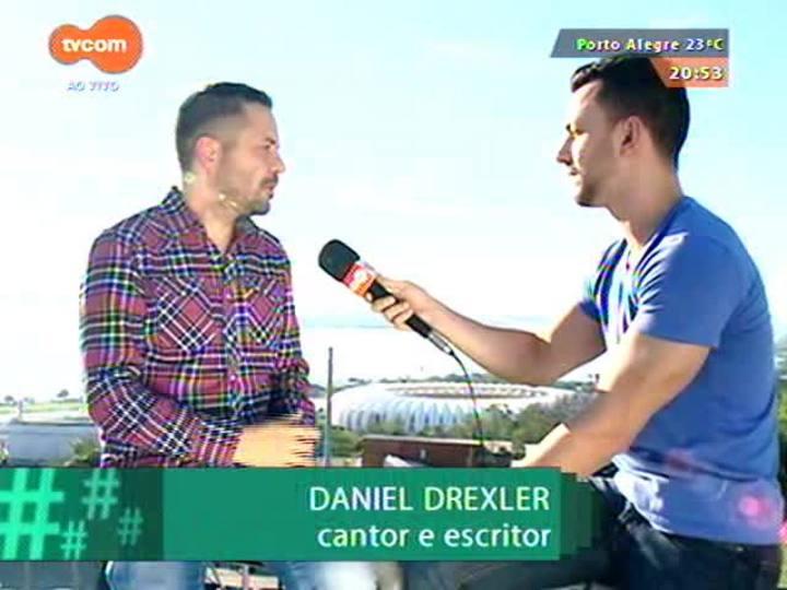 """#PortoA - Cantor e escritor Daniel Drexler fala de seu amor por Porto Alegre: """"é quase um bairro da minha cidade"""""""