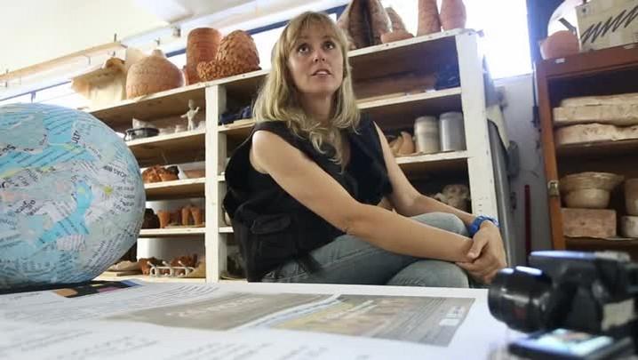 Grandes Mestres: Rebeca Stumm, uma artista itinerante