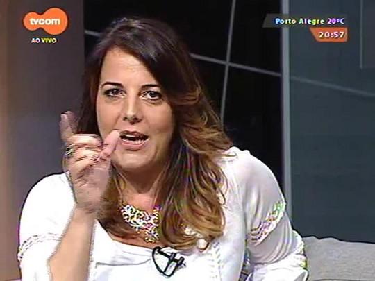 TVCOM Tudo Mais - Vanessa da Rocha invade o camarim de Tiago Iorc