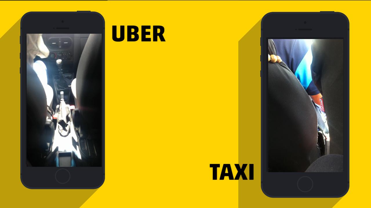 Teste ZH: táxi chega mais rápido, mas Uber é mais barato