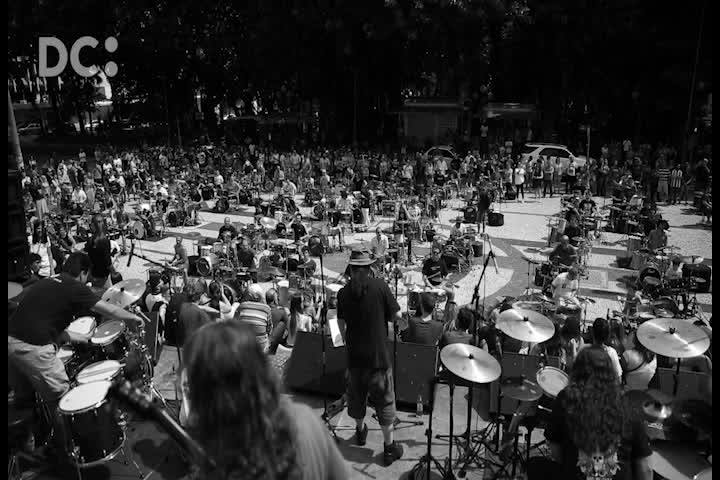 Veja como foi a terceira edição da Orquestra de Baterias, em Florianópolis