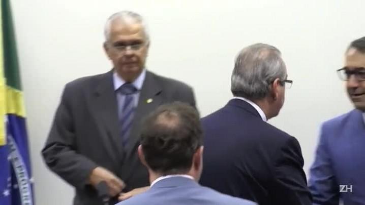 Eduardo Cunha depõe no Conselho de Ética