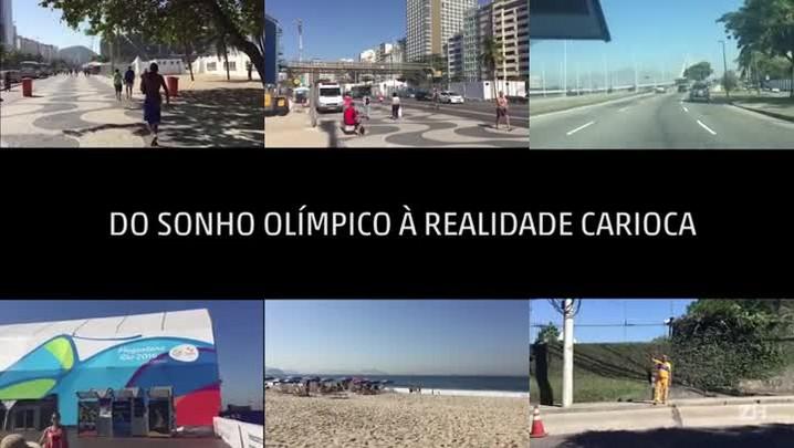 Do sonho olímpico à realidade carioca