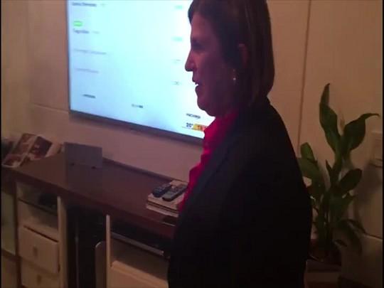 Prefeita de São José, Adeliana Dal Pont, comemora reeleição