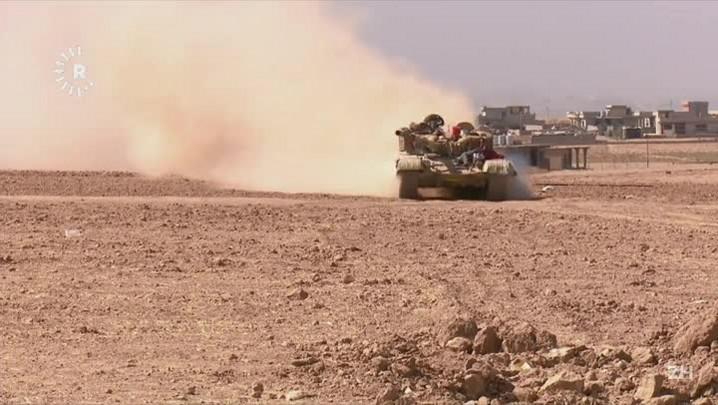 Turquia participa da operação em Mossul
