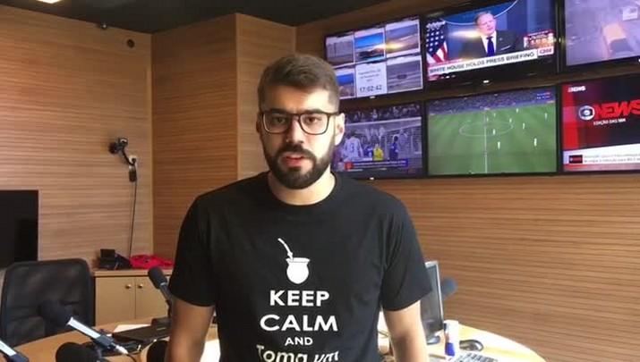 Diori Vascondelos analisa arbitragem de Flamengo e Grêmio
