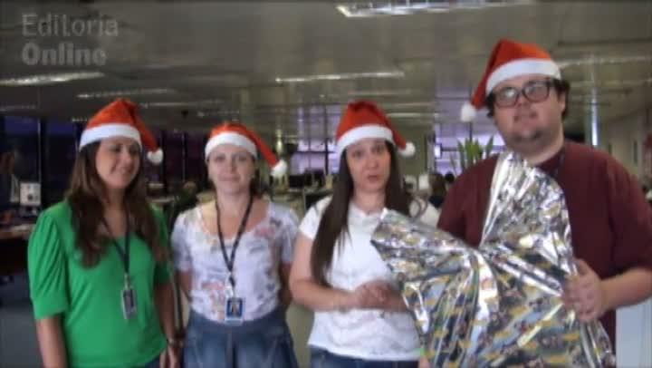 Redação do DG adota cartinhas da ação de Natal