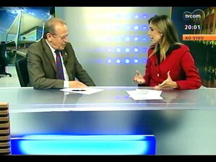 TVCOM 20 Horas - RS se candidata a receber centro avançado de perícias - Bloco 1 - 26/02/2013
