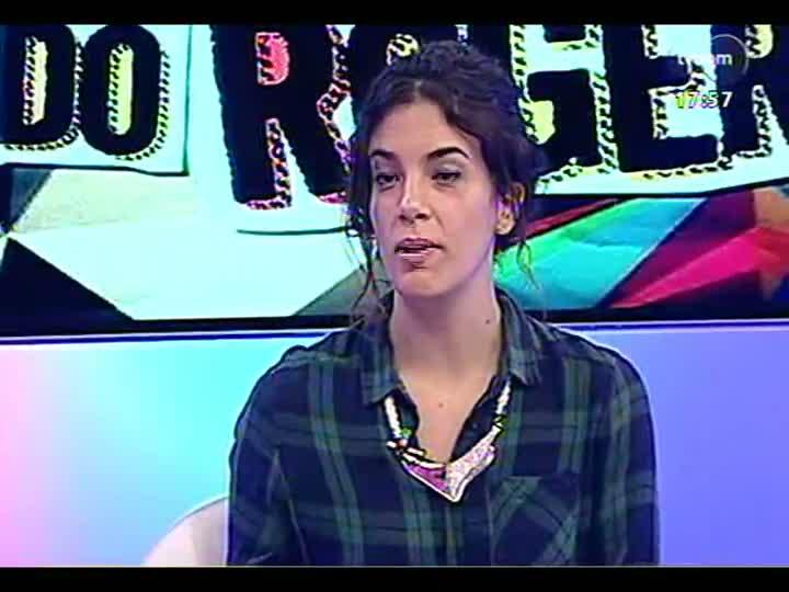Programa do Roger - Entrevista com cantora e compositora Céu - bloco 2 - 22/03/2013