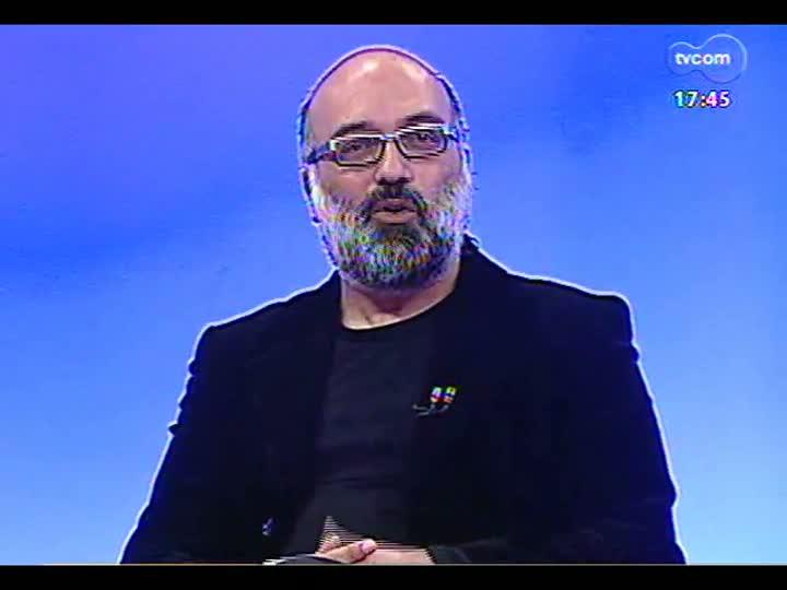 Programa do Roger - Cineasta Joel Zito Araújo fala sobre o documentário \'Raça\' - bloco 1 - 20/05/2013