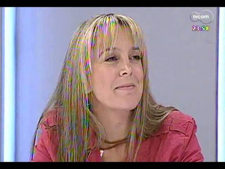 Mãos e Mentes - Pós-graduada em psicopedagogia clínica e institucional, a artista plástica Cláudia Zirbes - Bloco 3 - 24/05/2013