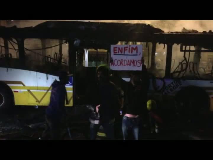 Cúpula da Segurança do Estado faz balanço dos protestos em Porto Alegre
