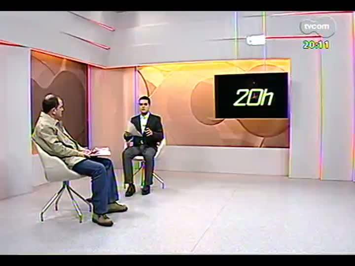 TVCOM 20 Horas - Entrevista com coronel Roget da Rosa sobre interdição do Centro Administrativo do Estado - Bloco 2 - 09/07/2013