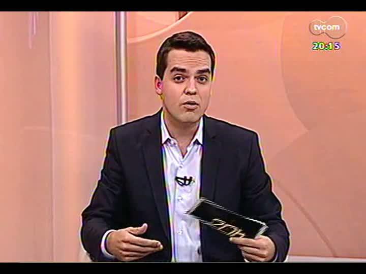 TVCOM 20 Horas - Uma análise da visita da presidente Dilma ao RS - Bloco 2 - 09/08/2013