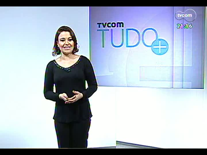 TVCOM Tudo Mais - Entrevista com a atriz Glória Pires