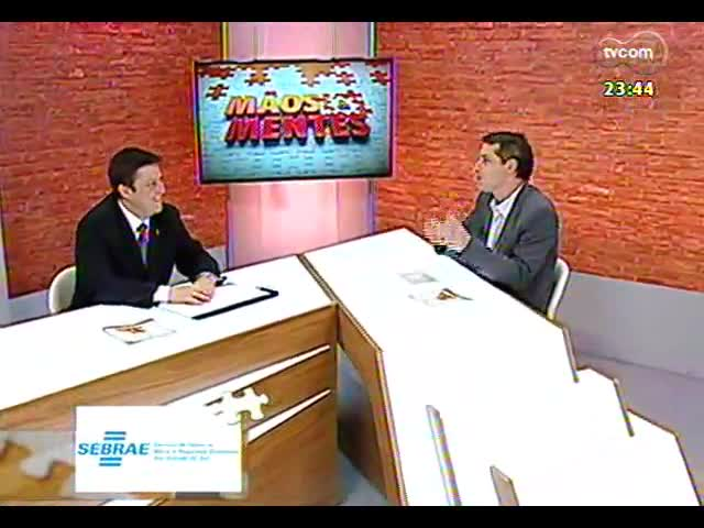 Mãos e Mentes - Professor e pesquisador Alexandre Lazzarotto - Bloco 2 - 11/10/2013