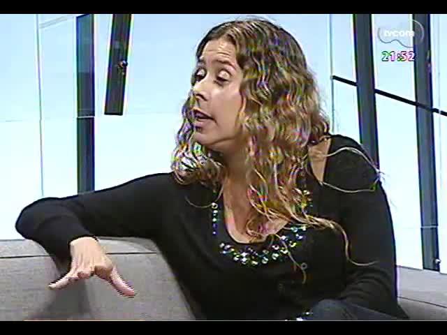 TVCOM Tudo Mais - Fotógrafa Cris Berger fala sobre o livro \'101 lugares para se conhecer em Porto Alegre\'