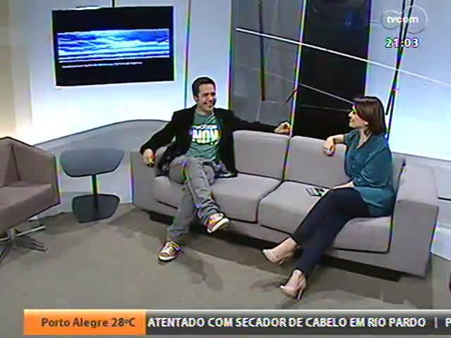 TVCOM Tudo Mais - Entrevista com o compositor e cantor uruguaio Daniel Drexler - Bloco 2