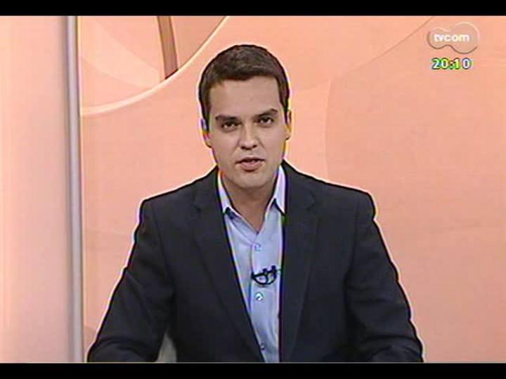 TVCOM 20 Horas - Presidente da OAB fala sobre a vistoria feita no Presídio Central de Porto Alegre - Bloco 2 - 23/12/2013