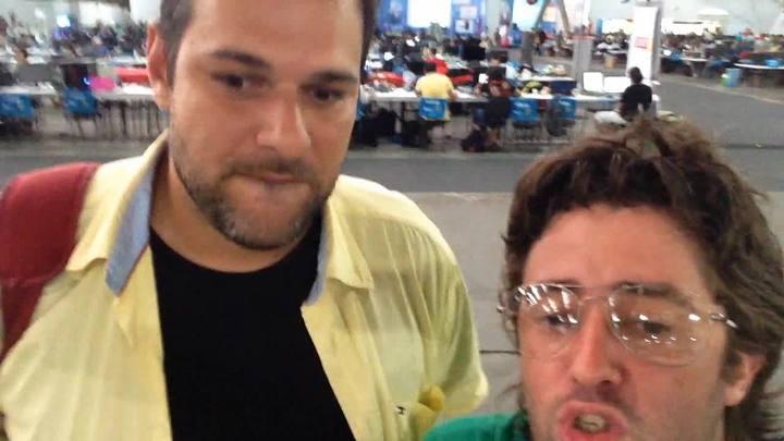 O terceiro dia da Campus Party
