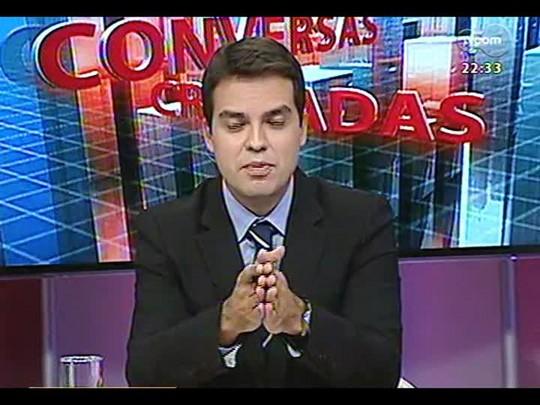 Conversas Cruzadas - Debate sobre pesquisa que revelou que 94% moradores da favela se consideram felizes - Bloco 2 - 24/02/2014