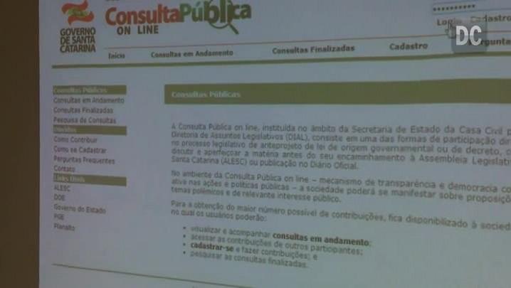 Diretora da Casa Civil explica nova ferramenta de participação em projetos de lei do Executiv