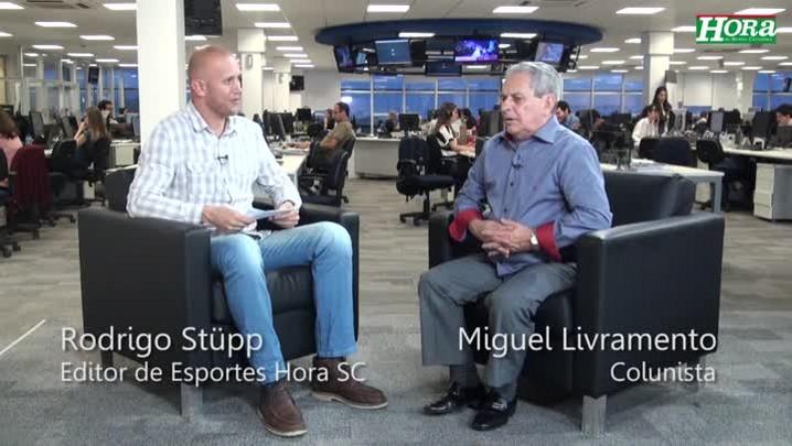 """Miguel Livramento: \""""Lúcio Maranhão caberia muito bem no ataque do Avaí\"""""""