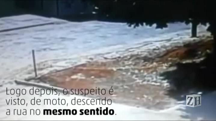 Vídeo: câmera flagra suspeito de assassinatos em Goiás