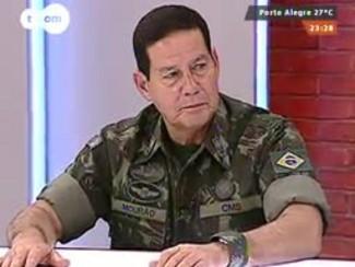 Mãos e Mentes - Comandante Militar do Sul general Antônio Hamilton Martins Mourão - Bloco 3 - 24/08/2014