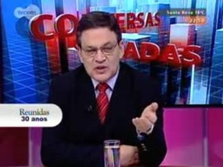 Conversas Cruzadas - Eleições 2014: entrevista com o presidente do TRE, desembargador Marco Aurélio Heinz - Bloco 3 - 29/08/2014