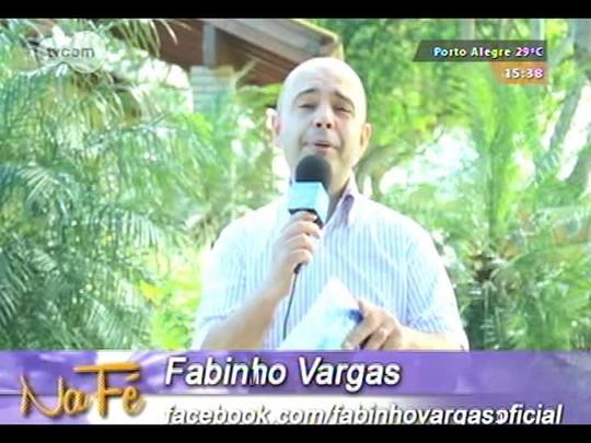 Na Fé - Clipes de música gospel e bate-papo com Rinaldo Borba - 14/09/2014 - bloco 3
