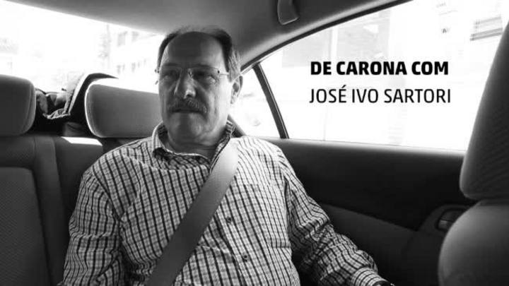 De Carona com o Candidato: José Ivo Sartori
