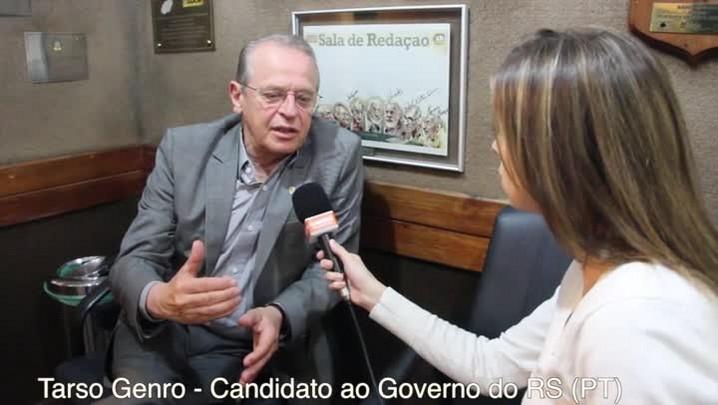 Fala candidato: Não deveria ter concorrido com o Olívio em 2002, diz Tarso