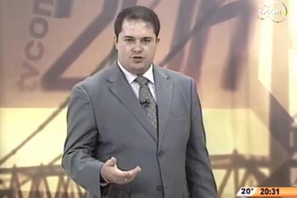 TVCOM 20 Horas - Bancários de SC aderem a greve nacional - 2º Bloco - 30/09/14