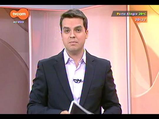 TVCOM 20 Horas - A segunda pesquisa IBOPE do segundo turno com intenção de voto no RS - Bloco 3 - 21/10/2014