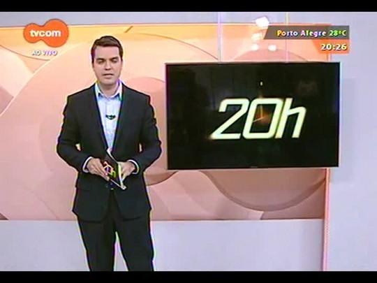 TVCOM 20 Horas - Ponte que cedeu na região central do estado pode cair a qualquer momento - 28/10/2014
